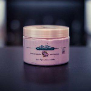 Масло для тела для предотвращения старения с лавандой, ванилью и пачули 300 мл1