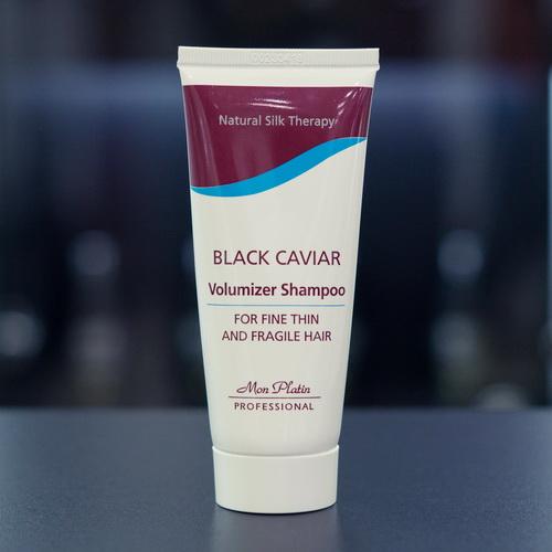 Шампунь для объема тонких и ломких волос с экстрактом черной икры, 100 мл